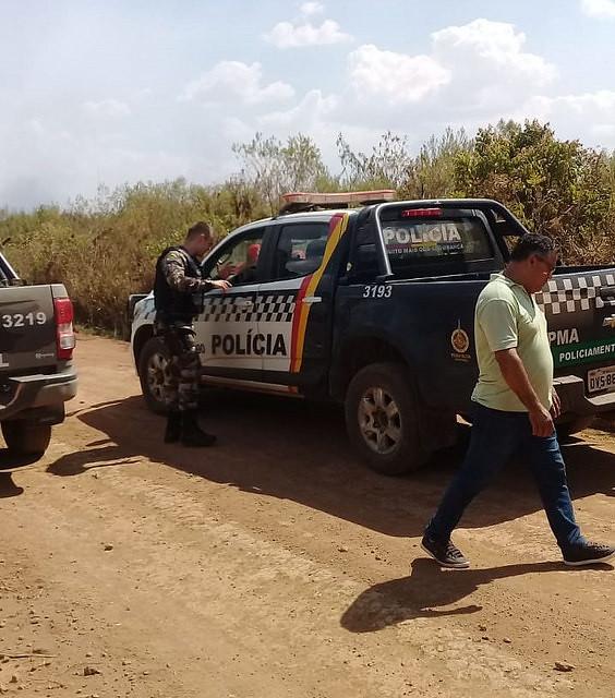 """PM reprime camponeses que se preparavam para ir ao ato """"EleNão em Brasília"""