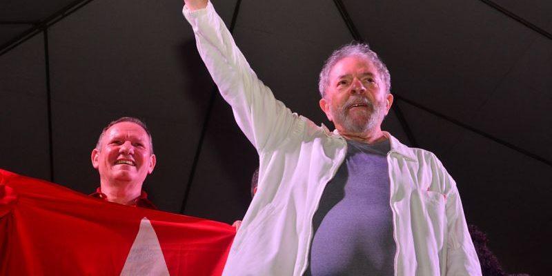 Lideranças e movimentos acompanham depoimento de Lula em Curitiba