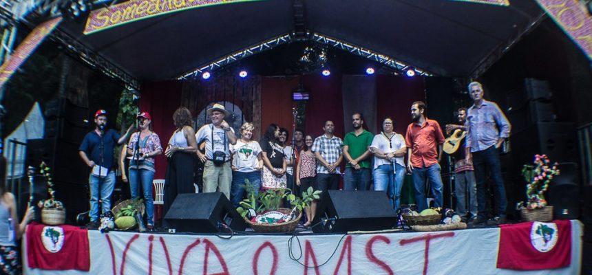 Ato político marca três décadas de resistência do MST em Minas Gerais