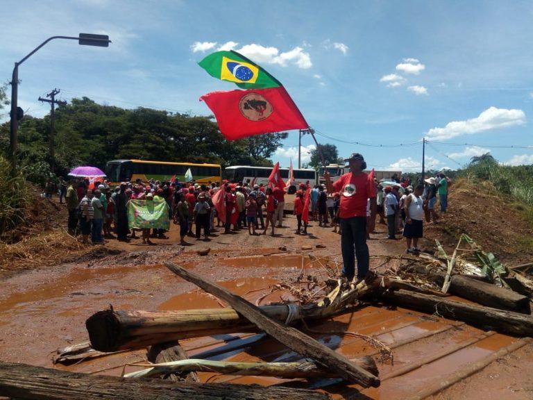 acampamentos do MST são afetados pelo rompimento da barragem de Brumadinho