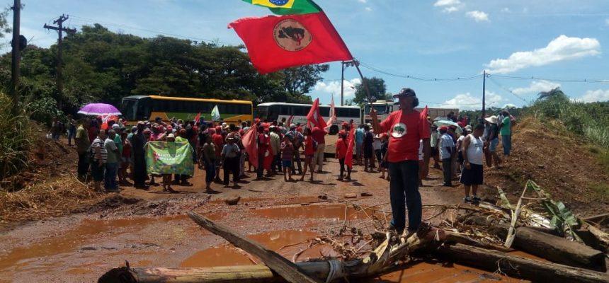 Em MG, acampamentos do MST são afetados pelo rompimento da barragem de Brumadinho