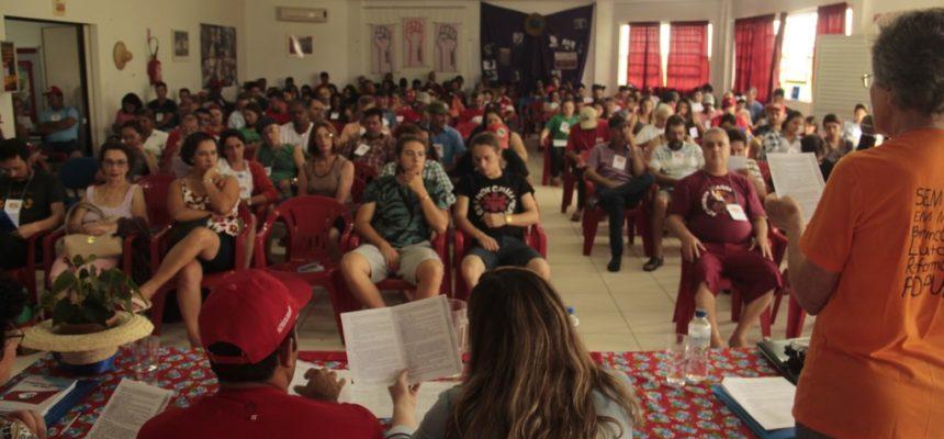 Durante encontro estadual, MST debate a importância da educação no campo