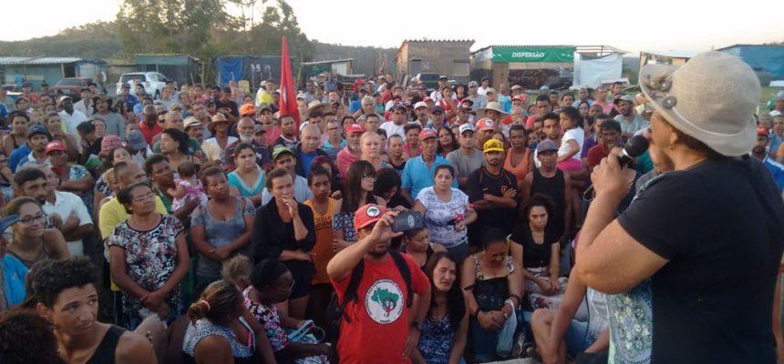Acampamento Marielle Vive! resiste às ofensivas judiciais da especulação imobiliária