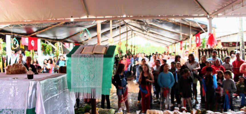 Acampamento do MST no Paraná realiza 1ª Festa da Colheita e da Reforma Agrária