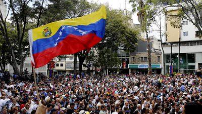 RS realiza ato unitário pela autodeterminação do povo venezuelano