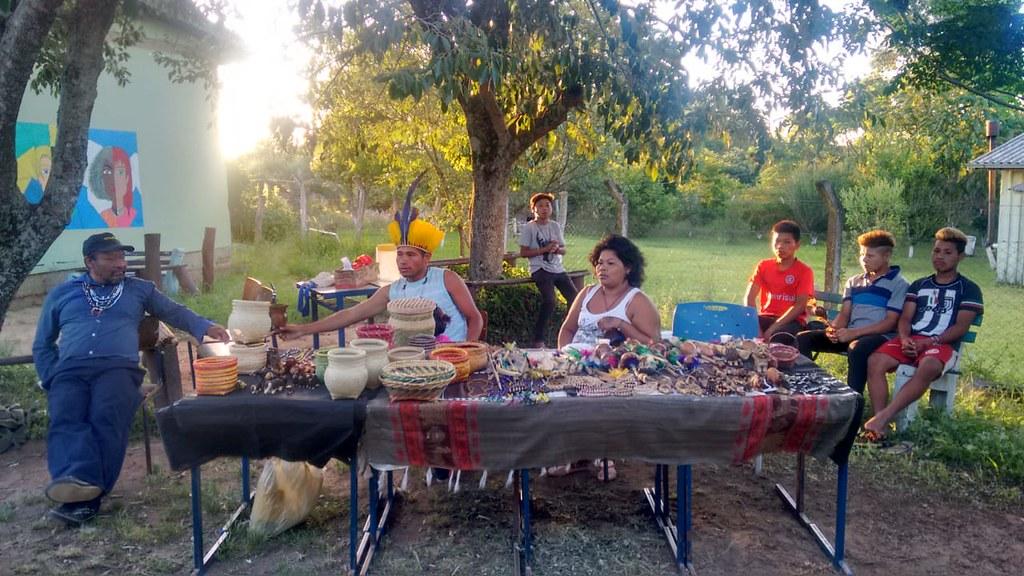 Participação do Povo Indigena Mbyá no Sarau - Foto - Artemio Soares.jpeg