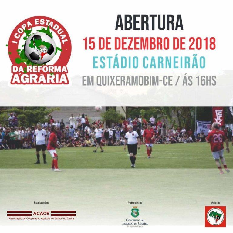 MST Realiza I Copa Estadual da Reforma Agrária