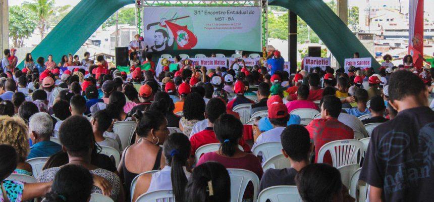 Encontro Estadual do MST na Bahia homenageia Márcio Matos