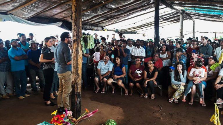 CNDH e Defensoria Pública intervém contra reintegração de posse de acampamento do MST