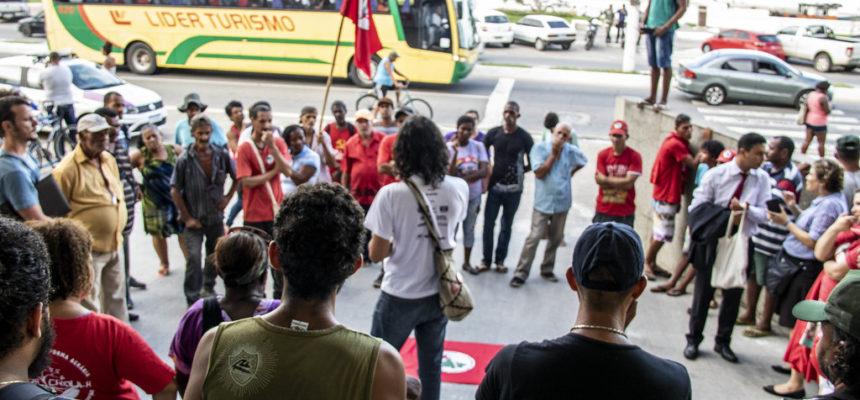 Sem Terra lutam pela construção de Unidade Pedagógica em Macaé