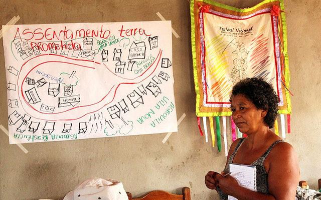 Eni Gomes, uma mulher Sem Terra e seus sonhos coletivos
