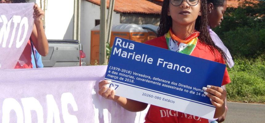Mulheres se organizam contra o feminicídio e a reforma da previdência no Piauí