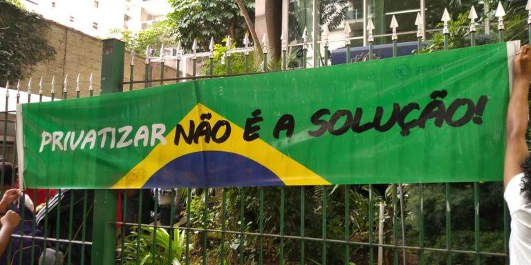 MST realiza ato em defesa da reforma Agrária em São Paulo