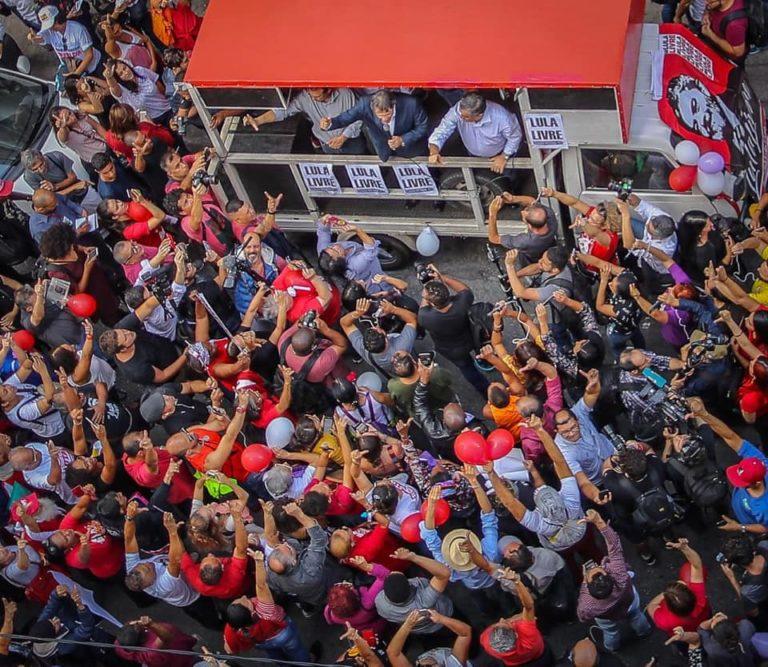 atos por Lula Livre acontecem em todo país