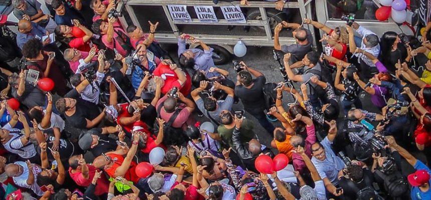 Após condenação injusta, atos por Lula Livre acontecem em todo país
