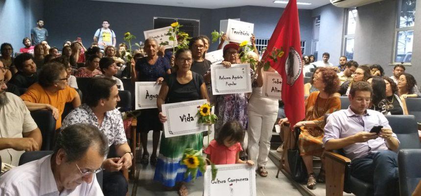 No Ceará, VI Jornada Universitária inicia com presença das matriarcas da luta pela terra
