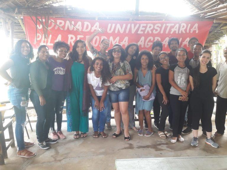 Tem início no Maranhão a 6ª Jornada Universitária em Defesa da Reforma Agrária