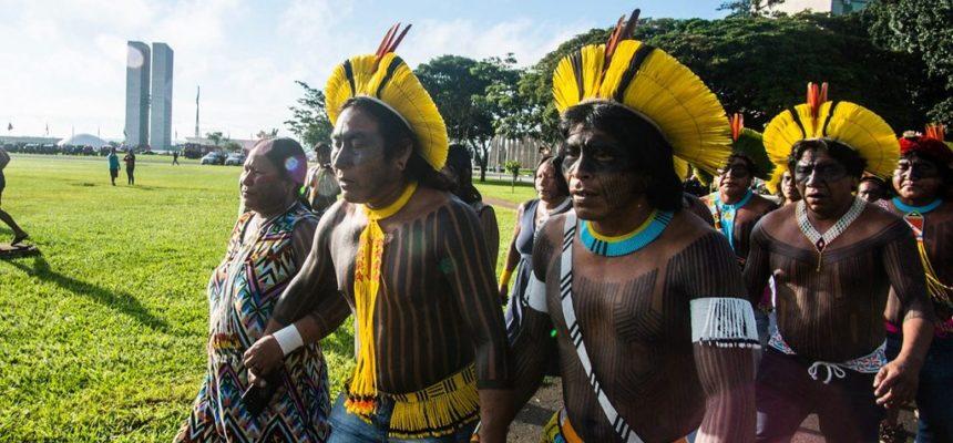 Em Brasília, acampamento Terra Livre denuncia governo