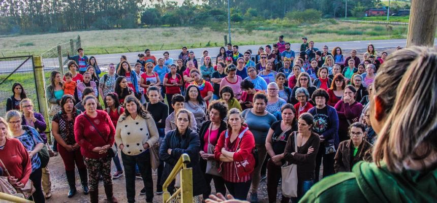 Mulheres Sem Terra da região Sul participam de intercâmbio