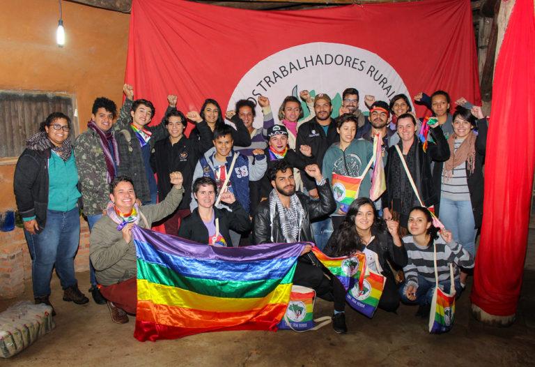 LGBTs Sem Terra participam de curso de formação política no RS