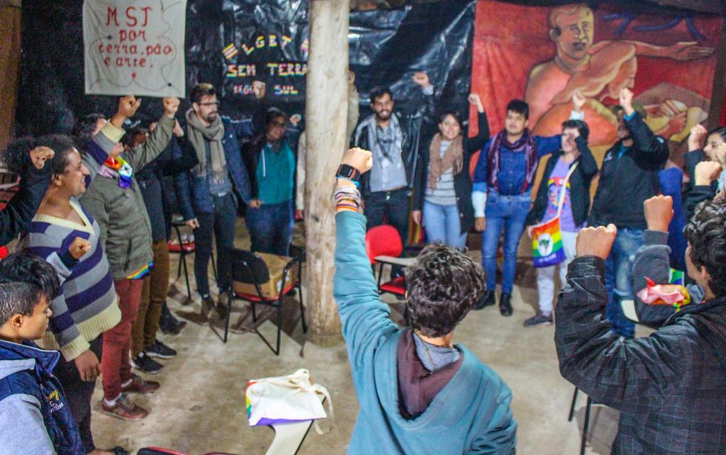 Um dos objetivos do curso é a auto-organização dos LGBTs do MST, a fim de estruturar coletivos nos estados. Fotos - Catiana de Medeiros (1).jpg