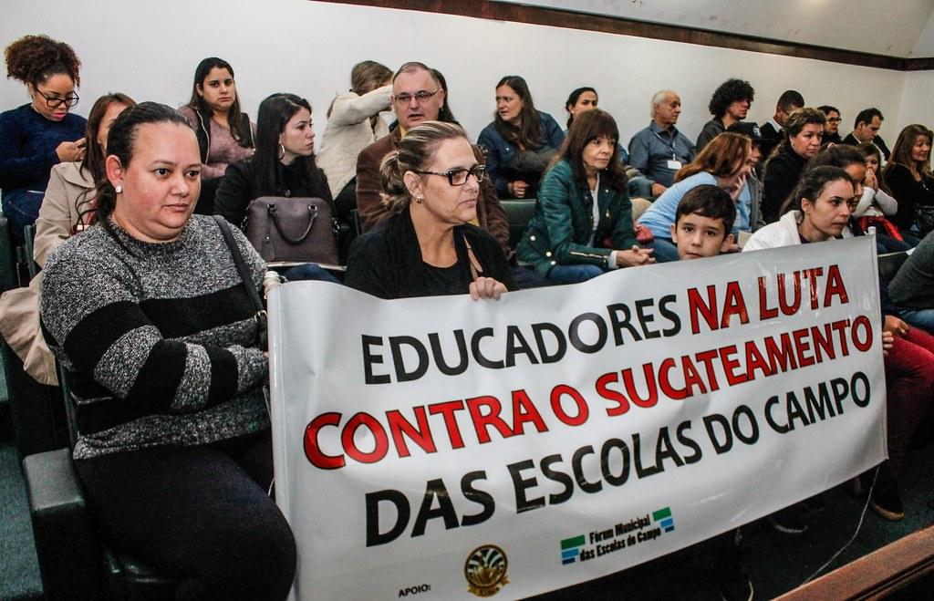 Desmonte da educação do campo preocupa comunidade escolar. Foto- Leandro Molina.jpg