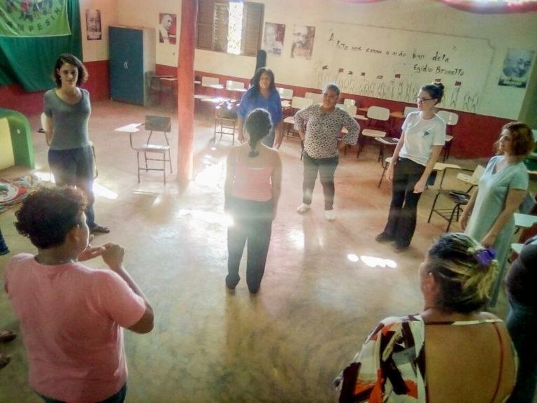 Mulheres semeiam a luta durante encontro no DF e Entorno