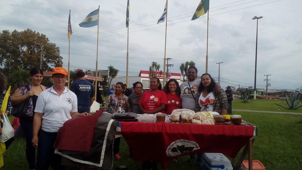 Em São Gabriel, na Fronteira Oeste, teve feira ecológica. Foto Lisian Jardim.jpg