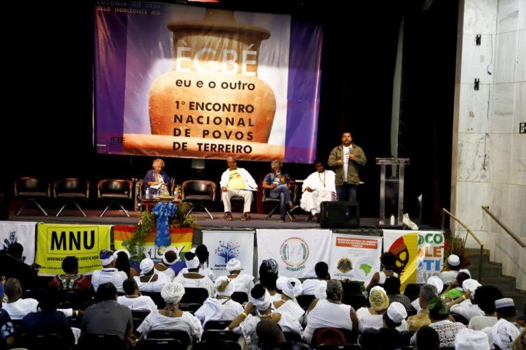 1º Encontro Nacional de Povos de Terreiro celebra resistência