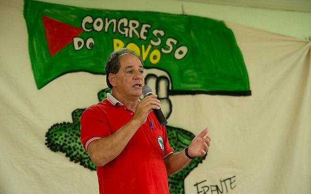 """""""Nós podemos dizer que o Brasil parou!"""", afirma Jaime Amorim, dirigente do MST"""