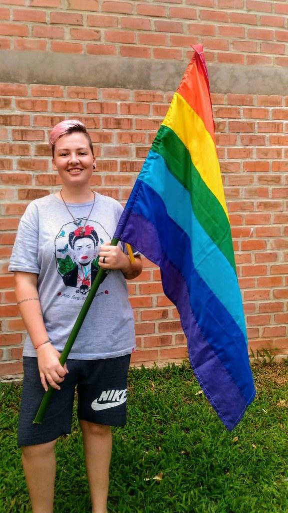 Priscila explica que o principal desafio é fazer com que a sociedade as enxerguem as LGBTs como sujeitos. Foto - divulgação.jpg