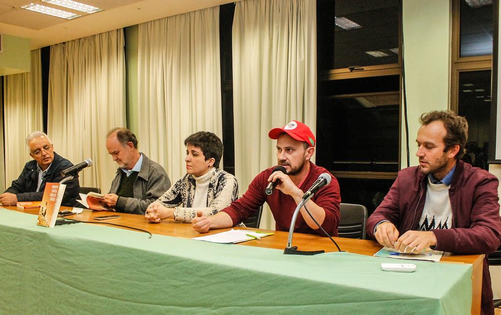 Sidnei Santos lembrou que Casaldáliga sempre esteve ao lado dos Sem Terra. Foto Leandro Molina..jpg