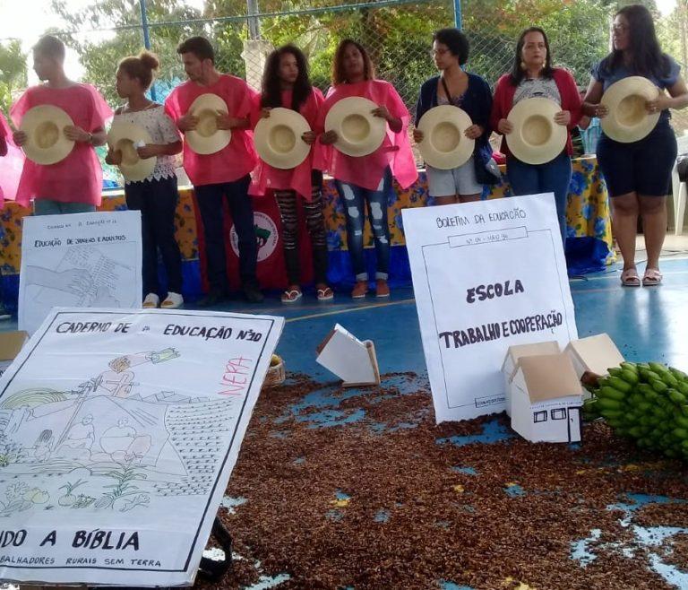 Espirito Santo realiza Encontro Estadual de Educadores e Educadoras da Reforma Agrária