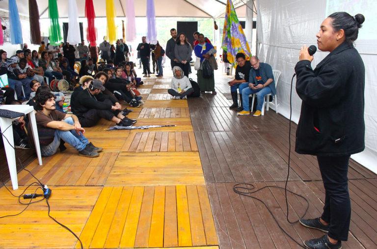 Ato público discute as problemáticas da mineração no RS