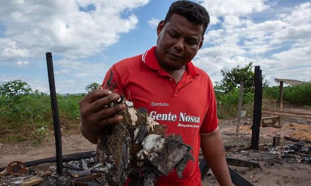 Fogo, pistolagem e medo na fazenda 1.200 no Pará