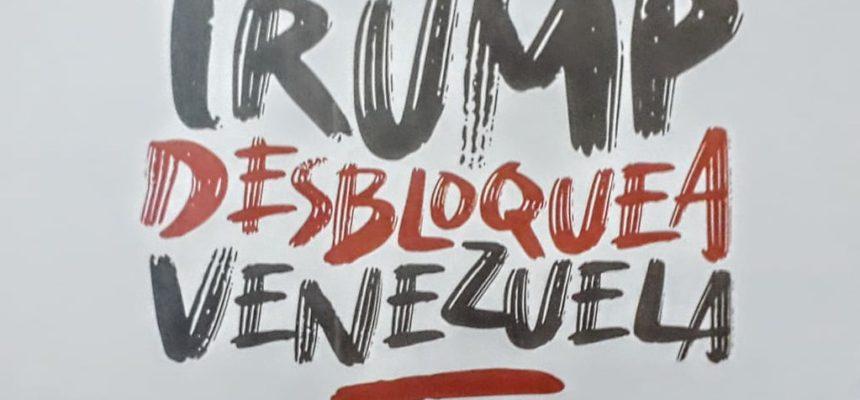 Brigada do Congresso do Povo realiza ato em apoio à Venezuela