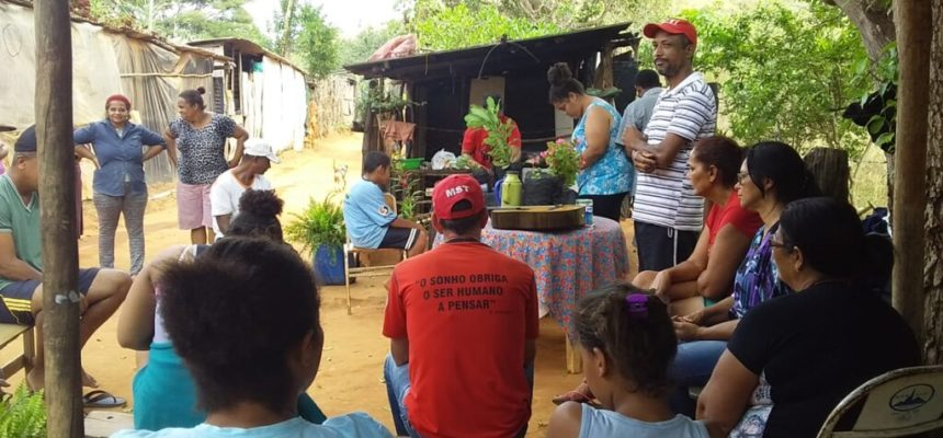 Em Minas Gerais, acampamento Maria da Penha avança na conquista terra