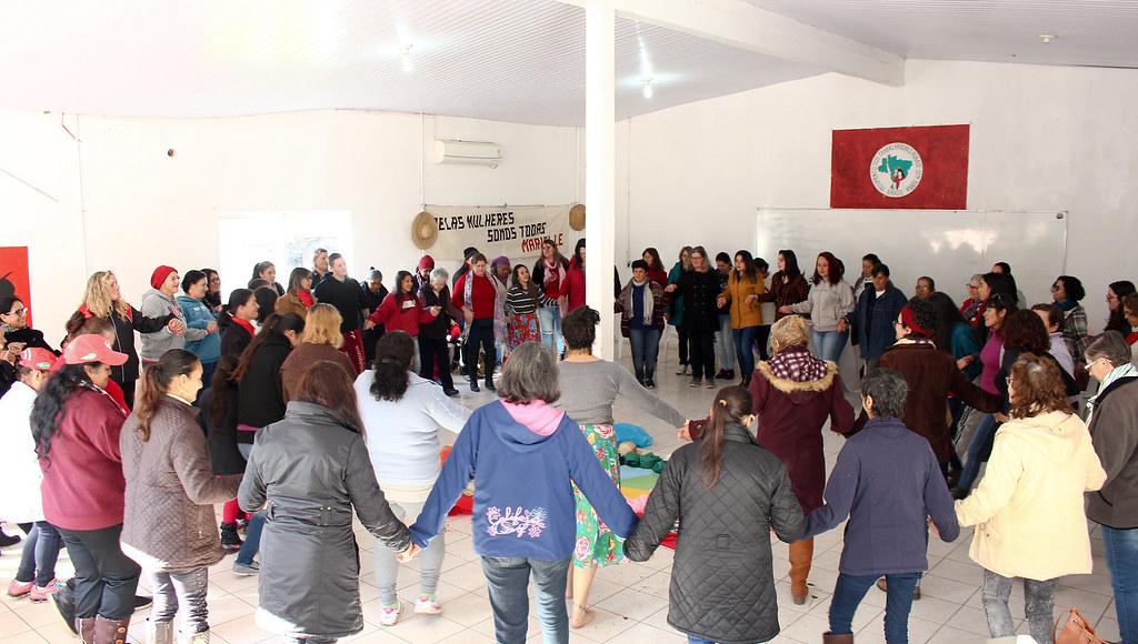 Encontro reuniu assentadas da região Metropolitana de Porto Alegre. Foto - Catiana de Medeiros..jpg