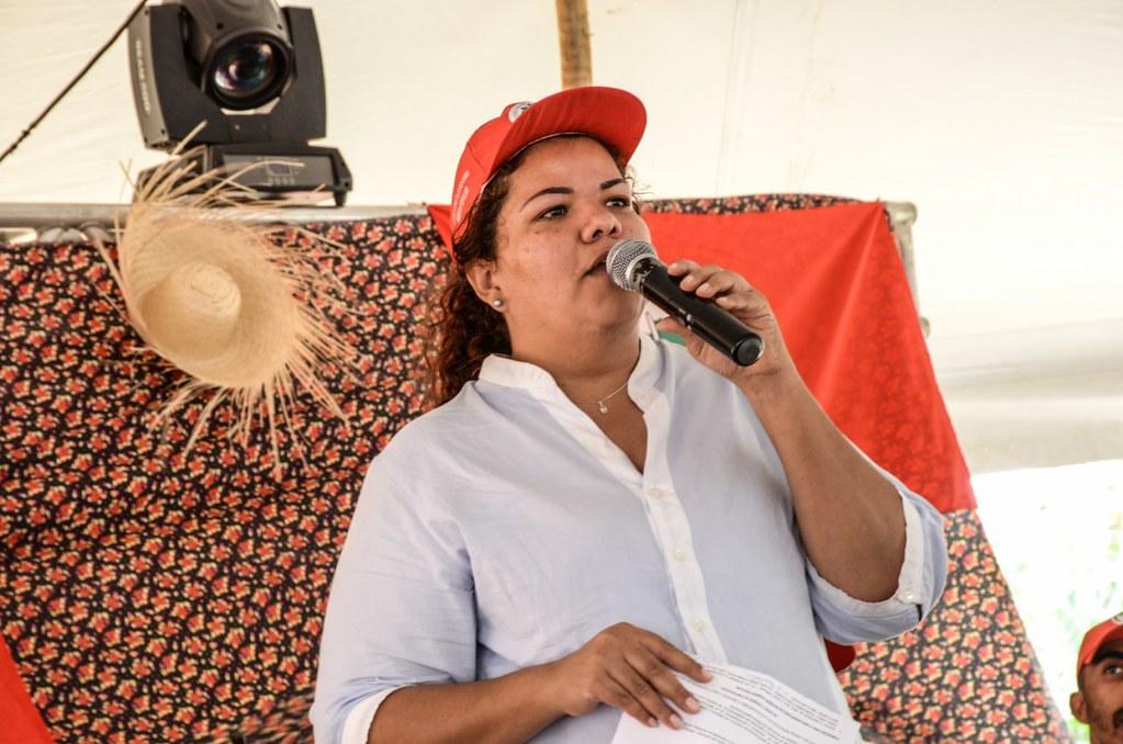 Débora Nunes, da coordenação nacional do MST. Foto_Luiz Fernando.jpg