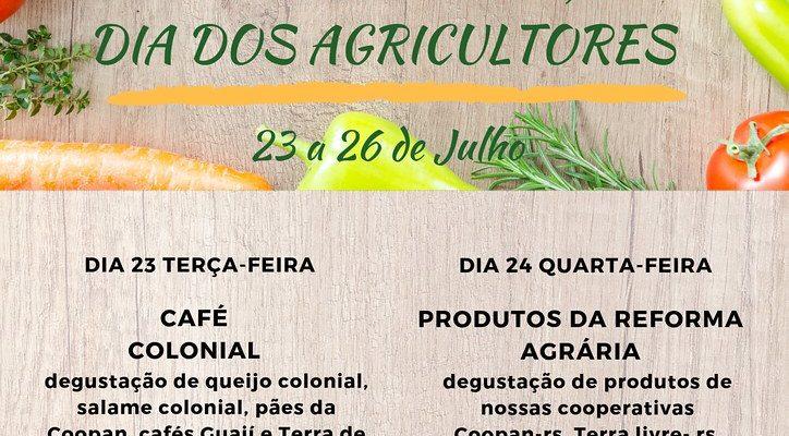 Semana do Agricultor: confira as ações da Loja da Reforma Agrária em Porto Alegre