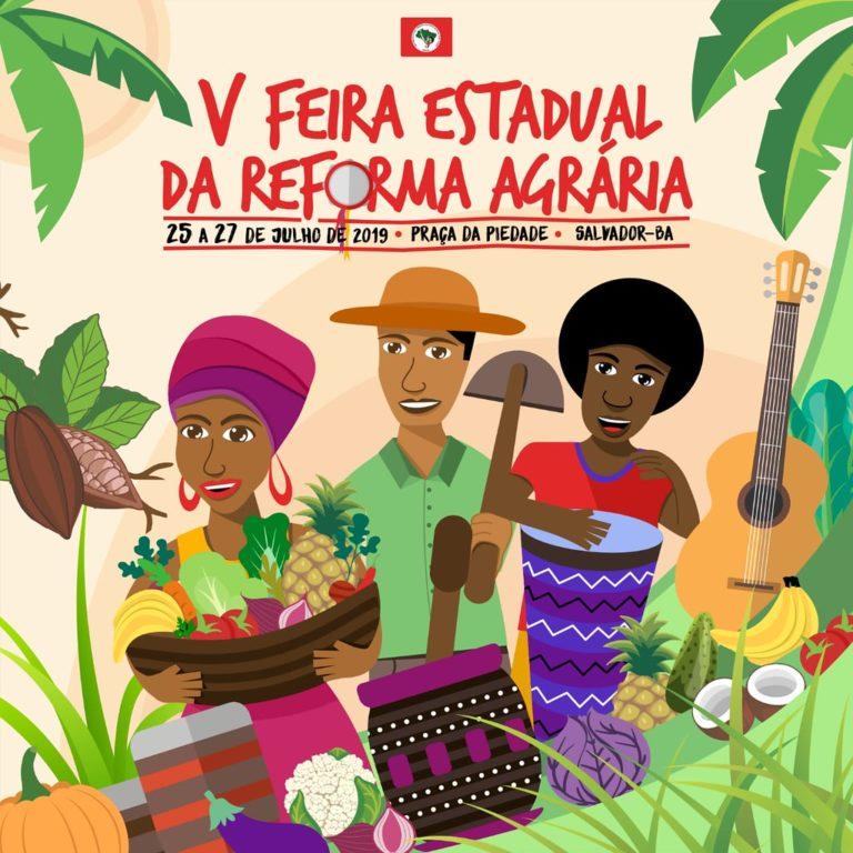 MST promove 5ª Feira estadual da Reforma Agrária