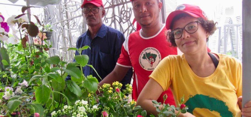 O tema da reforma agrária no centro de Salvador