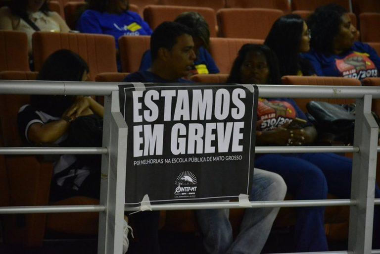 MST divulga nota de apoio à greve na educação do Mato Grosso