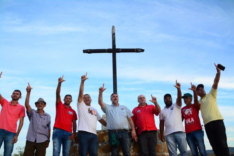 Primeiro dia da Caravana da Resistência afirma a luta por Reforma Agrária e Lula Livre