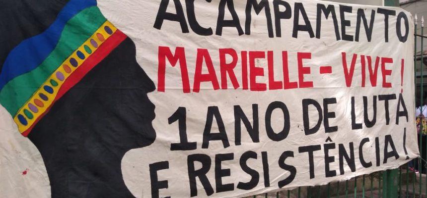Acampamento Marielle Vive! recebe visita de representantes do MP e Condep