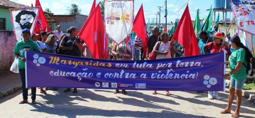 Marchar é um ato de valentia e resistência!