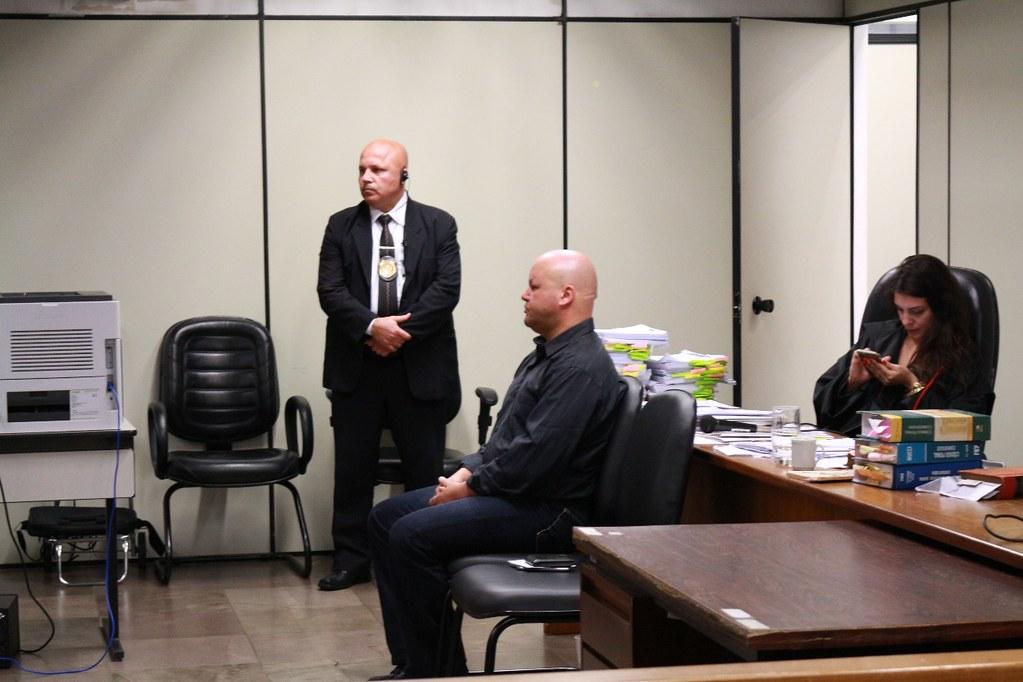 Policial militar Alexandre Curto dos Santos em julgamento, em 2017. Foto Catiana de Medeiros.jpg
