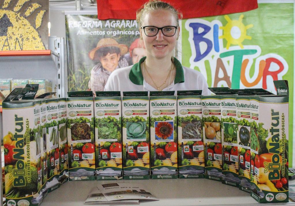 Na Expointer são comercializadas sementes da Reforma Agrária. Foto Divulgação MST.jpg