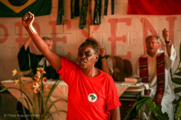 Tribunal de Justiça suspende despejo do acampamento Marielle Vive!