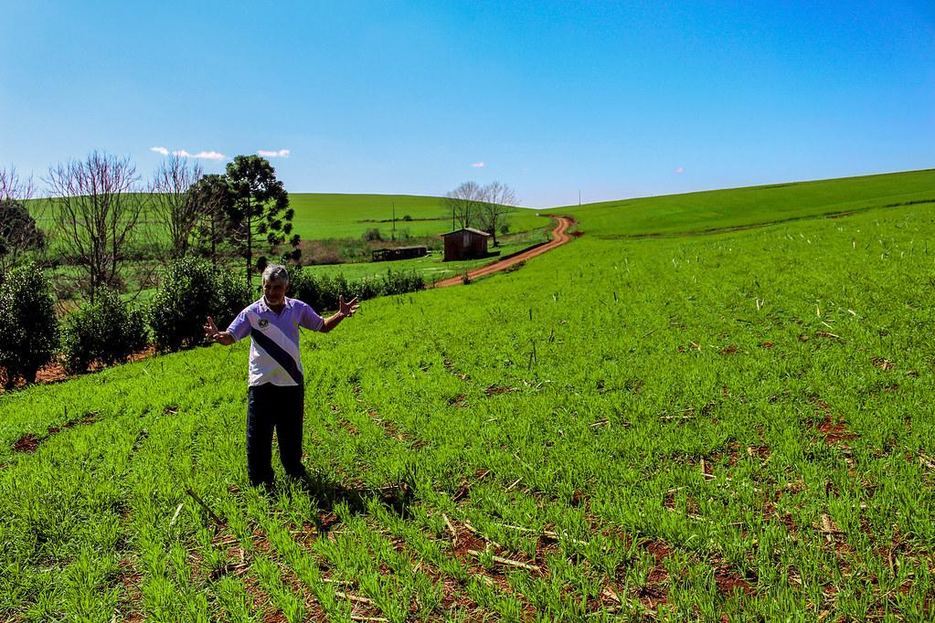 6 - Brachak um dos lideres camponeses na ocupação da Fazenda Brilhante - Foto - Maiara Rauber.jpg